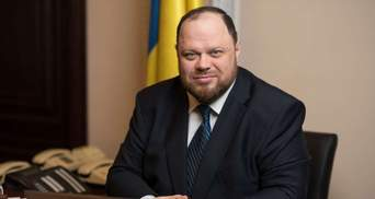 Стефанчук зізнався, чи хоче замість Разумкова стати головою Ради