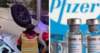 Главные новости 1 мая: ДТП в Киеве с пьяным водителем, дополнительные дозы вакцины Pfizer