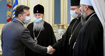 Обговорили Великдень і Донбас: Зеленський зустрівся з церковними лідерами