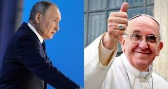 Папа Римський нічим не переконає Путіна, – російський журналіст про зустріч у Ватикані