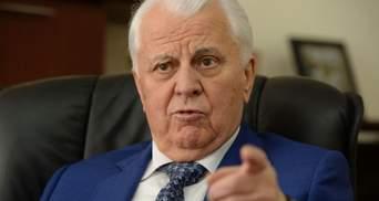 Україна може взяти за основу російський проєкт щодо перемир'я на Донбасі, – Кравчук