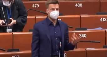 Санкции ПАСЕ против Гончаренко: на ситуацию отреагировали в МИД