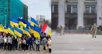 В Одесі пройшов Марш захисників: Куликове поле закрили на санобробку