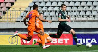 Динамо в меньшинстве сыграло вничью против Мариуполя: видео