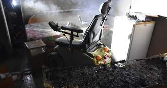 """Обгорел мужчина с инвалидностью: пожар в Одесском санатории """"Куяльник"""" – фото"""