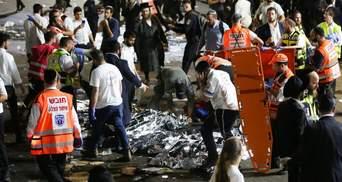 В Ізраїлі оголосили національний траур через трагедію на горі Мерон