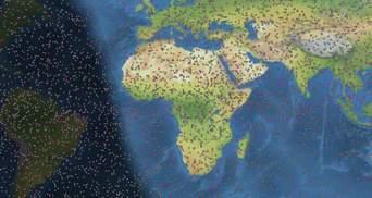 У США створили інтерактивну карту космічного сміття