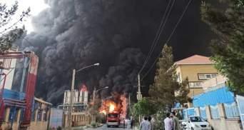 Мощный взрыв прогремел на химическом заводе в Иране: есть пострадавшие – фото, видео