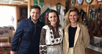 Не официальный визит, а отдых, – Зеленский с женой посетил Прикарпатье