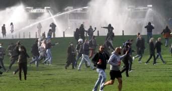 Фестиваль проти локдауну у Брюсселі: сотня затриманих та десятки поранених – фото, відео