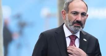 Парламент Вірменії відмовився повторно призначати Пашиняна прем'єром