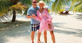 Григорий и Кристина Решетники повторили фирменный танец на Мальдивах: видео