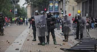 Євросоюз засудив насильство у Колумбії: там під час протестів загинуло 19 людей