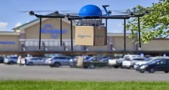 Американская сеть супермаркетов Kroger будет доставлять товары дронами