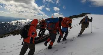Возле горы Поп Иван туристы нашли мертвого мужчину