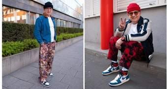Хіпстерський пенсіонер з Німеччини: внук вдягнув дідуся у свій одяг і зробив його знаменитим
