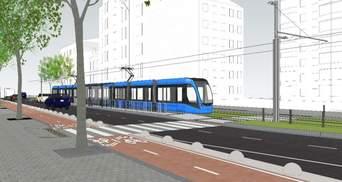 """Ко """"Дворцу спорта"""": Киев объявил торги на проект продления скоростного трамвая"""