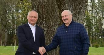"""Теж підтримує страусів: Лукашенко показав Додону """"улюблений палац"""""""