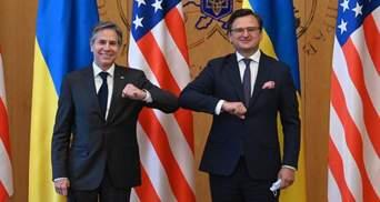 Взаимодействие Украины и США является вкладом в безопасность мира – Кулеба о встрече с Блинкеном