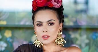Моноброва і троянди у волоссі: як повторити мексиканський б'юті-образ Насті Каменських