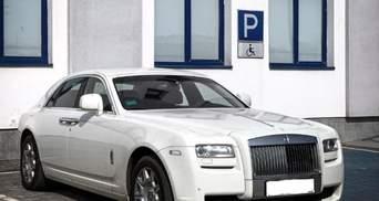 Единственный в Украине: во Львове заметили Rolls-Royce Ghost стоимостью 10 миллионов – фото