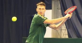 Стаховский зачехлил ракетку на теннисном турнире в Праге
