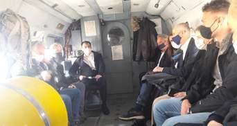 Глави МЗС Нідерландів, Бельгії та Люксембургу вирушили на Донбас