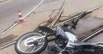 Дедушку-мотоциклиста раздавила маршрутка: В Кривом Роге произошло жесткое ДТП