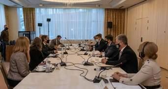 Реформи та пандемія: що обговорювали різні фракції на зустрічі з Блінкеном
