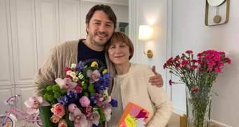 Сергій Притула чуттєво привітав маму з днем народження: Яке щастя, що ти у нас є