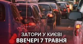 Перед вихідними: Київ скували шалені затори – онлайн-карта