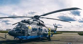 Нацгвардія отримала сучасний французький вертоліт Airbus: фото