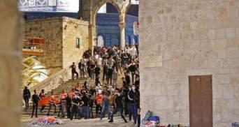 Рамадан в Єрусалимі завершився сутичками: майже 150 поранених