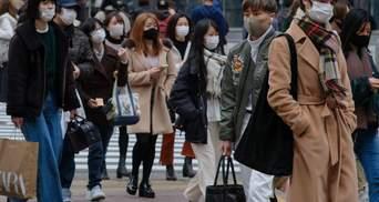 COVID-19 повертається: в Японії зафіксували рекордну кількість нових хворих