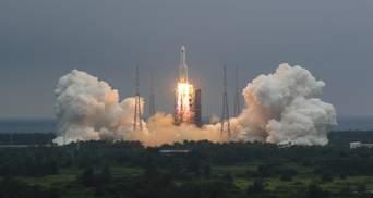 Китайская ракета упала на Землю: известно место
