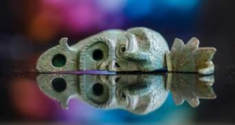 Ліва сторона загадкового обличчя: в Ізраїлі археологи знайшли фрагмент древньої лампи