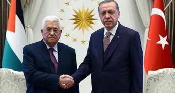 """Ердоган назвав """"терором"""" дії Ізраїлю щодо палестинців в Єрусалимі"""