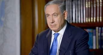 Нетаньяху пообіцяв кровну розплату за обстріли Ізраїлю
