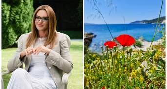 Жена Медведчука Марченко опубликовала фотографии якобы отдыха в Хорватии: фотодоказательство