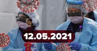 Новости о коронавирусе 12 мая: COVID-паспорт в Украине, исследование об иммунитете