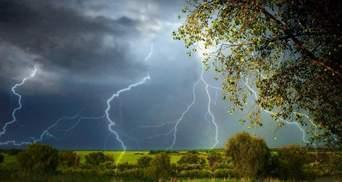 Прогноз погоды на 13 мая: одну часть Украины охватят грозы, другую – потепление