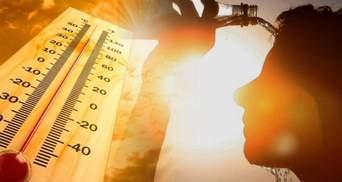 В Украину идет жара до +30 градусов