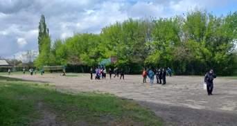 На Луганщині конфлікт між школярами перейшов у розмахування ножем