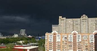 Апокалиптическое небо над Харьковом: атмосферные фото