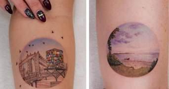 Дівчина вразила мільйони людей своїми татуюваннями: як вони виглядають