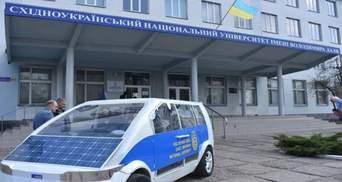 """Украинские студенты представили прототип электромобиля """"Ева"""": фото"""