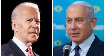 Ізраїль має право захищатися, – Байден поговорив телефоном із Нетаньяху