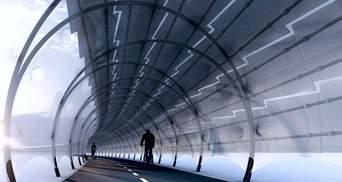 З сонячними панелями: архітектор показав концепцію футуристичного велотунелю