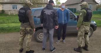 Прикордонники Одещини затримали розшукуваного Інтерполом злочинця: фото