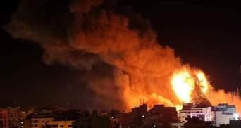 Израиль начал масштабную военную операцию против Cектора Газа: видео